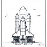 Litt av hvert - Raket lancering