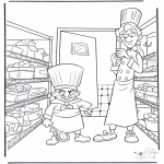 Tegneseriefigurer - Ratatouille 2