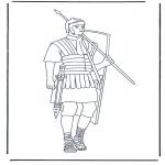 Litt av hvert - Roman soldier 1