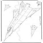 Litt av hvert - Saab J 35 F Draken
