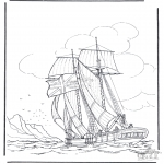 Litt av hvert - Sailing ship 1