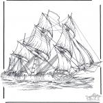 Litt av hvert - Sailing ship 3