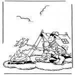 Tegneseriefigurer - Samson and Gert 2