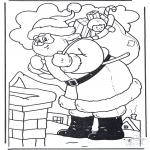Jul - Santa at Chimney