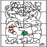 Jul - Santa Claus Puzzle