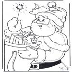 Jul - Santa Claus with staff