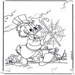 Tegneseriefigurer - Scrooge McDuck 2