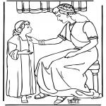 Bibelsk - Servant girl Naäman