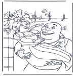 Tegneseriefigurer - Shrek 3