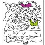 Pricking cards - Sinterklaas 53