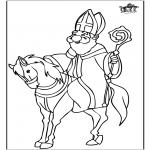 Pricking cards - Sinterklaas 59