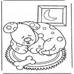 Dyr - Sleeping dog