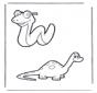 Snake and dino