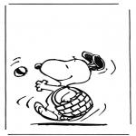 Tegneseriefigurer - Snoopy 1