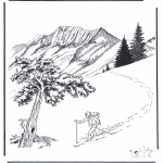 Vinter - Snow in Yellowstone 2
