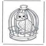 Dyr - Snow owl