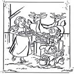 Tegneseriefigurer - Snow White 1