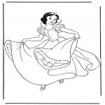 Tegneseriefigurer - Snow White 10