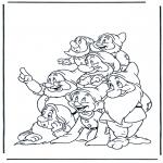 Tegneseriefigurer - Snow White 13