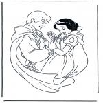 Tegneseriefigurer - Snow White 2
