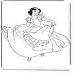 Tegneseriefigurer - Snow White 3