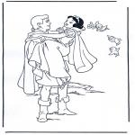 Tegneseriefigurer - Snow White 4