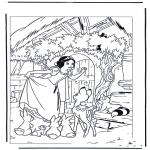 Tegneseriefigurer - Snow White 7