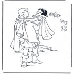 Tegneseriefigurer - Snow White 9