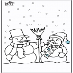 Vinter - Snowman 4