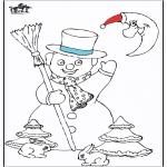 Vinter - Snowman 5
