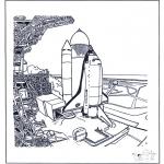 Litt av hvert - Space shuttle