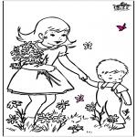 Litt av hvert - Spring flowers 2