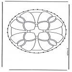 Broderkort - Stitchingcard 1