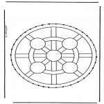 Broderkort - Stitchingcard 8
