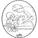 Temaer - Stitchingcard baby 1