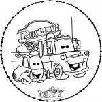 Broderkort - Stitchingcard Cars