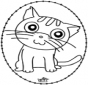 Stitchingcard cat