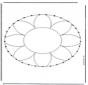 Stitchingcard mandala 1