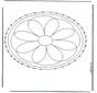 Stitchingcard mandala 2