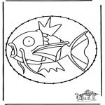 Broderkort - Stitchingcard Pokemon