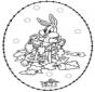 Stitchingcard rabbit