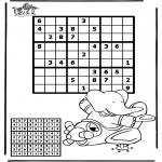 Kreativitet - Sudoku Airplane