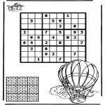 Kreativitet - Sudoku balloon
