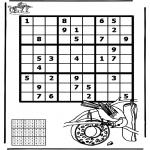 Kreativitet - Sudoku bird