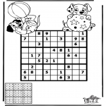 Kreativitet - Sudoku dalmatians