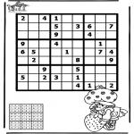 Kreativitet - Sudoku girl