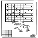 Kreativitet - Sudoku ice skating