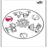 Mandala - Summer mandala