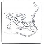 Tegneseriefigurer - Tarzan 3