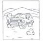 Terrein auto